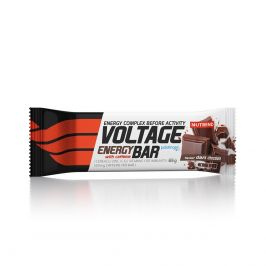 Tyčinka Nutrend Voltage Energy Bar Kofein Příchuť: hořká čokoláda