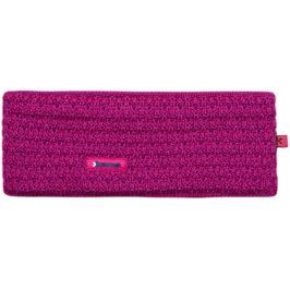 Pletená Merino čelenka Kama C36 Barva: růžová