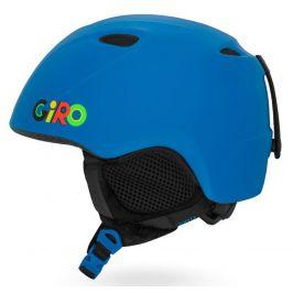Dětská lyžařská přilba Giro Slingshot Velikost helmy: 52-55,5 cm / Barva: modrá