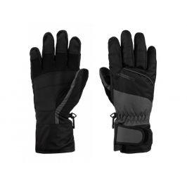 Lyžařské rukavice Loap Rodney Velikost rukavic: M / Barva: šedá