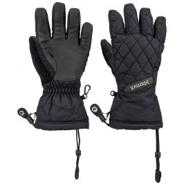 Dámské rukavice Marmot Wm´s Moraine Glove Velikost: S / Barva: black