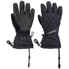 Dámské rukavice Marmot Wm´s Moraine Glove Velikost rukavic: M / Barva: černá