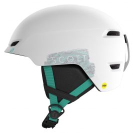 Dětská lyžařská přilba Scott Keeper 2 Plus Velikost helmy: 53-56 cm / Barva: bílá/zelená