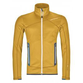 Pánská mikina Ortovox Fleece Jacket Velikost: M / Barva: žlutá