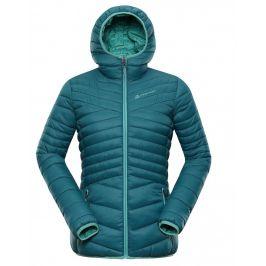 Dámská zimní bunda Alpine Pro Munsra 5 Velikost: S / Barva: modrá/zelená