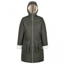 Dámský zimní kabát Regatta Romina Velikost: M / Barva: šedo-zelená