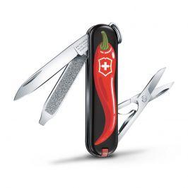 Kapesní nůž Victorinox Classic LE Chili Peppers Barva: černá/červená