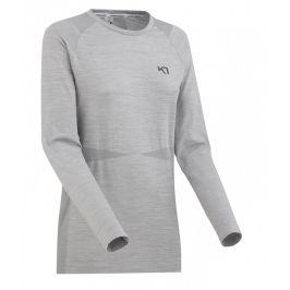 Dámské funkční triko Kari Traa Marit LS Velikost: L/XL / Barva: šedá
