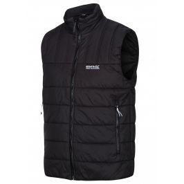 Pánská zimní vesta Regatta Freezeway B/W Velikost: XL / Barva: černá