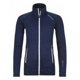 Dámská bunda Ortovox Fleece Space Dyed Jacket Velikost: S / Barva: tmavě modrá