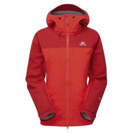 Dámská bunda Mountain Equipment Saltoro Wmns Jacket Velikost: S (10) / Barva: červená