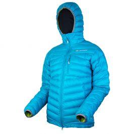 Pánská péřová bunda Sir Joseph Apris Hooded Man II Velikost: M / Barva: modrá