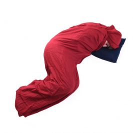 Vložka do spacáku Trekmates Hotelier Barva: červená