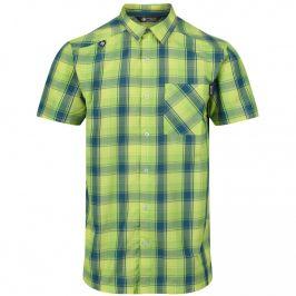 Pánská košile Regatta Kalambo IV Velikost: M / Barva: žlutá/modrá