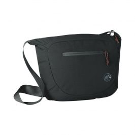 Taštička Mammut Shoulder Bag Round 4 l Barva: černá