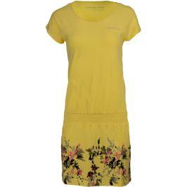 Šaty Alpine Pro Lalita Velikost: XL / Barva: žlutá