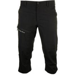Pánské 3/4 kalhoty Alpine Pro Nanek Velikost: M / Barva: černá