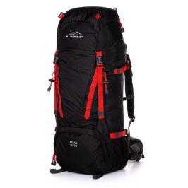 Turistický batoh Loap Atlas 70 + 10 Barva: černá/červená