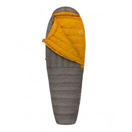 Spacák Sea to Summit Spark SPII Long Zip: Levý / Barva: šedá/žlutá