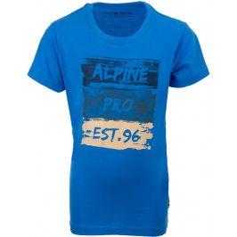 Dětské triko Alpine Pro Lado Dětská velikost: 140-146 / Barva: modrá