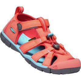 Dětské sandály Keen Seacamp II CNX K Dětské velikosti bot: 25/26 / Barva: oranžová