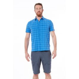 Pánská košile Northfinder Sminson Velikost: XXL / Barva: modrá
