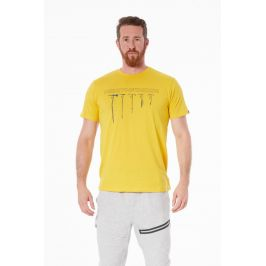 Pánské triko Northfinder Benjil Velikost: M / Barva: bílá