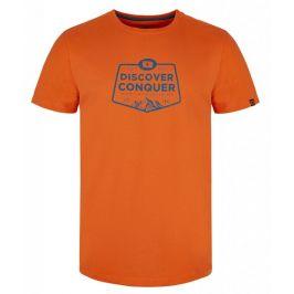 Pánské triko Loap Anakin Velikost: M / Barva: oranžová