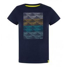 Dětské triko Loap Baris Dětská velikost: 112-116 / Barva: modrá