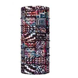 Dětský šátek Buff Coolnet Uv+ Kids Barva: černá/červená