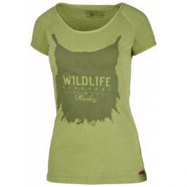 Dámské triko Husky Lynx Velikost: S / Barva: zelená