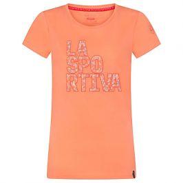 Dámské triko La Sportiva Pattern T-Shirt W Velikost: S / Barva: růžová