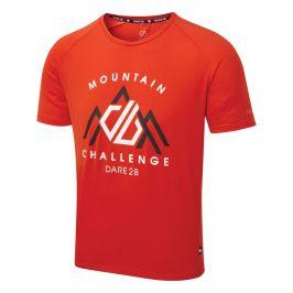 Pánské triko Dare 2b Righteous II Tee Velikost: XXL / Barva: oranžová