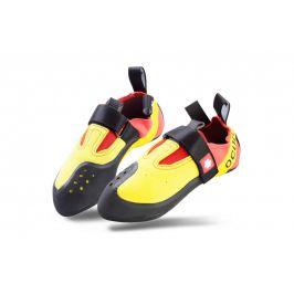 Lezečky Ocún Rival Velikost bot (EU): 35 / Barva: červená/žlutá