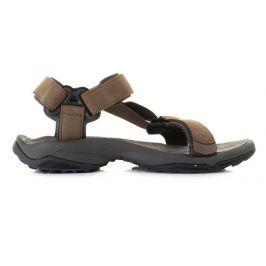 Pánské sandály Teva Terra Fi Lite Leather Velikost bot (EU): 40,5 / Barva: hnědá
