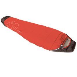 Spacák Boll Light+ SF Zip: Levý / Barva: červená