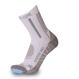 Ponožky Sherpax Everest Velikost: 30-34 / Barva: bílá