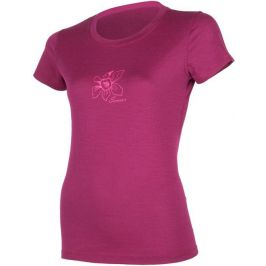 Dámské triko Sensor Merino Wool PT Orchidea Velikost: XL / Barva: lila