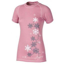 Dámské triko Progress DF NKRZ Print Velikost: S / Barva: růžová