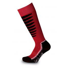 Dětské podkolenky Sherpax Laudo P červené Velikost ponožek: 30-34 / Barva: červená
