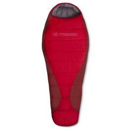 Spacák Trimm Tropic 185 cm Zip: Levý / Barva: červená