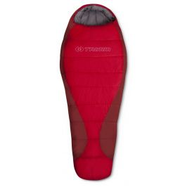 Spacák Trimm Tropic 195 cm Zip: Levý / Barva: červená