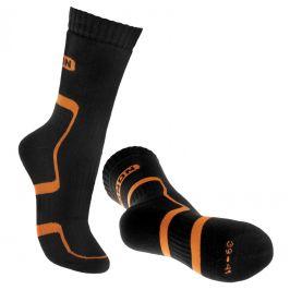 Ponožky Bennon Trek Sock Velikost ponožek: 36-38 / Barva: černá/oranžová