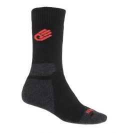 Ponožky Sensor Expedition Merino Wool Velikost ponožek: 35-38 (3-5) / Barva: černá/červená