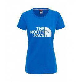 Dámské triko The North Face Easy Tee Velikost: XS / Barva: modrá