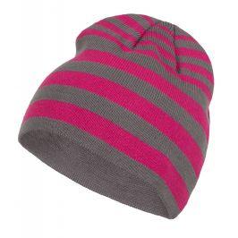 Zimní čepice Loap Zolle Velikost: 52 / Barva: růžová