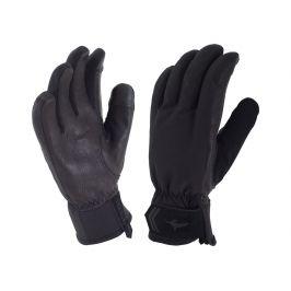 Dámské rukavice SealSkinz Women's All Season Glove Velikost: XL (9) / Barva: černá