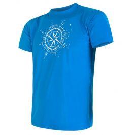 Pánské triko Sensor Coolmax Fresh PT Kompas Velikost: M / Barva: modrá
