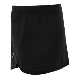 Funkční sukně Sensor Merino Active Velikost: S / Barva: černá