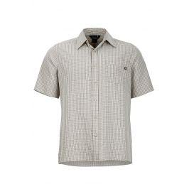 Pánská košile Marmot Eldridge SS Velikost: S / Barva: bílá